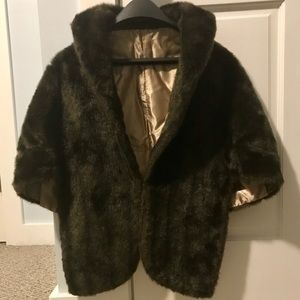 Vintage Real Mink Fur Cape/Stole